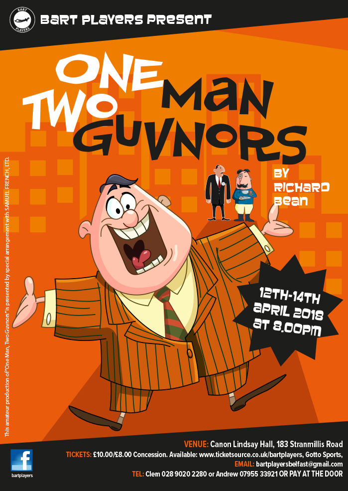 One Man Two Guvz A2 Poster
