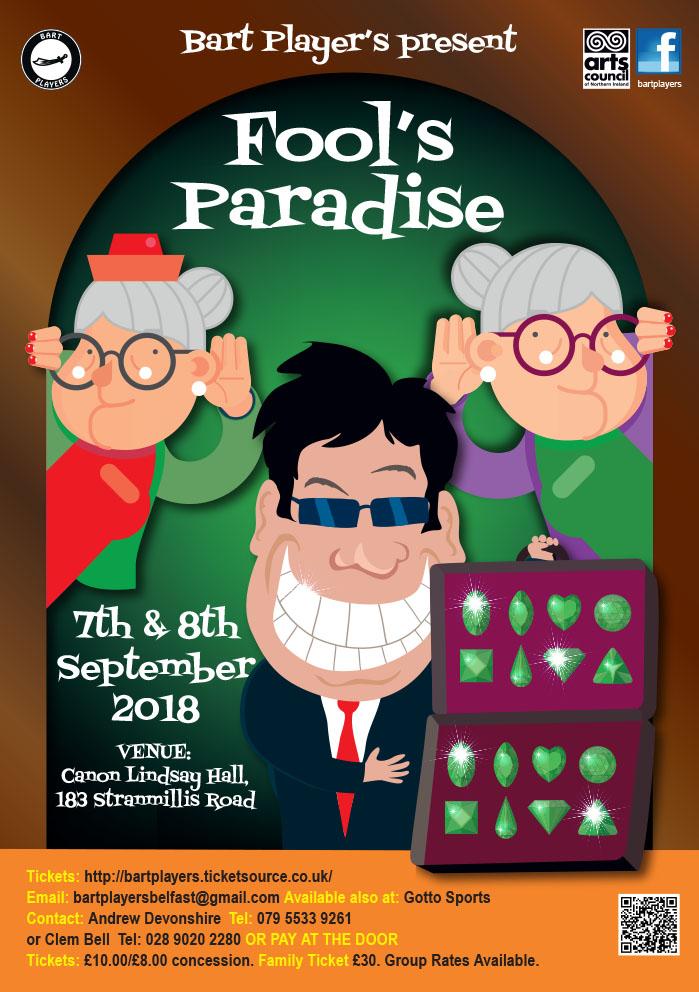 Fools Paradise Poster